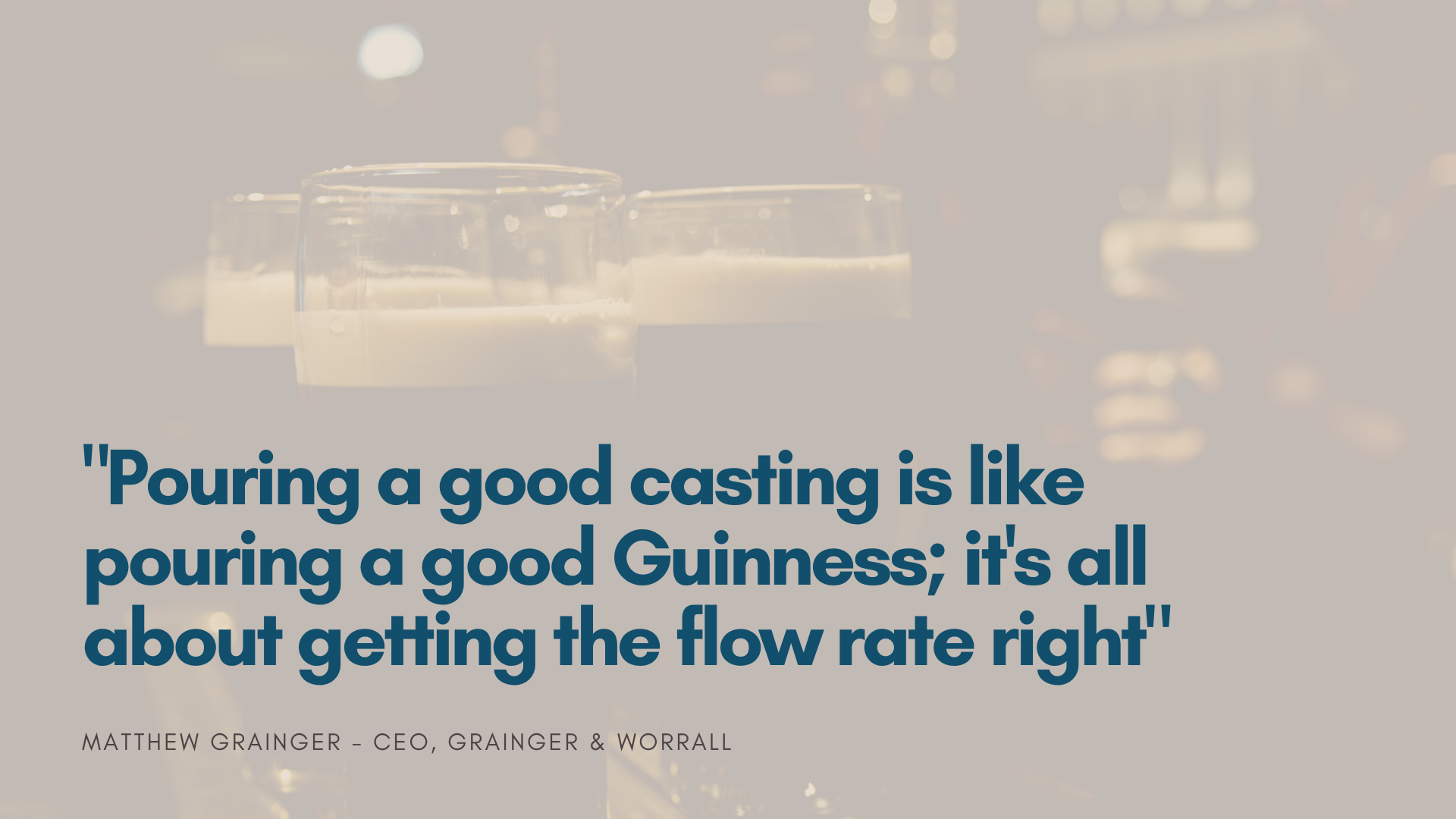 casting guiness quote